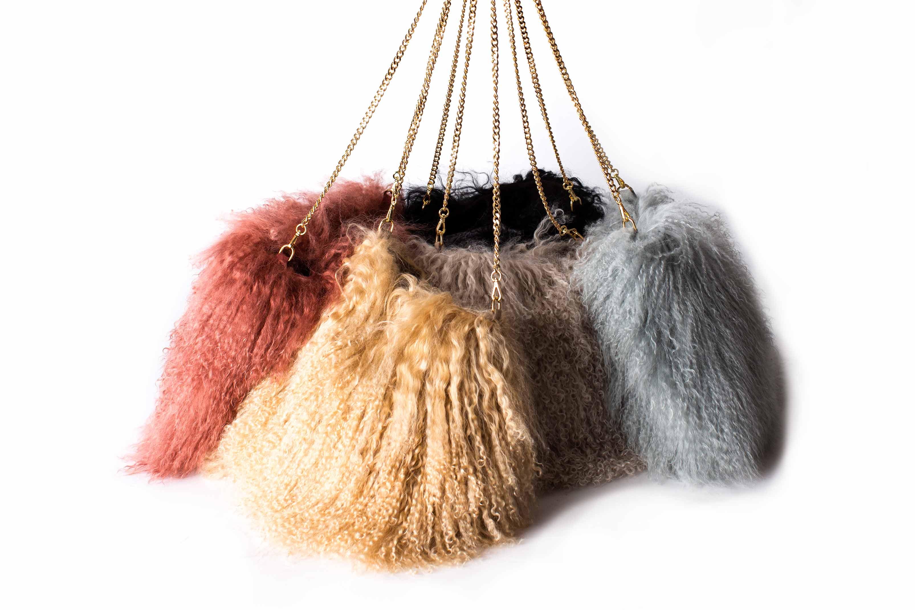 Mongolia Bag Dusty Pink