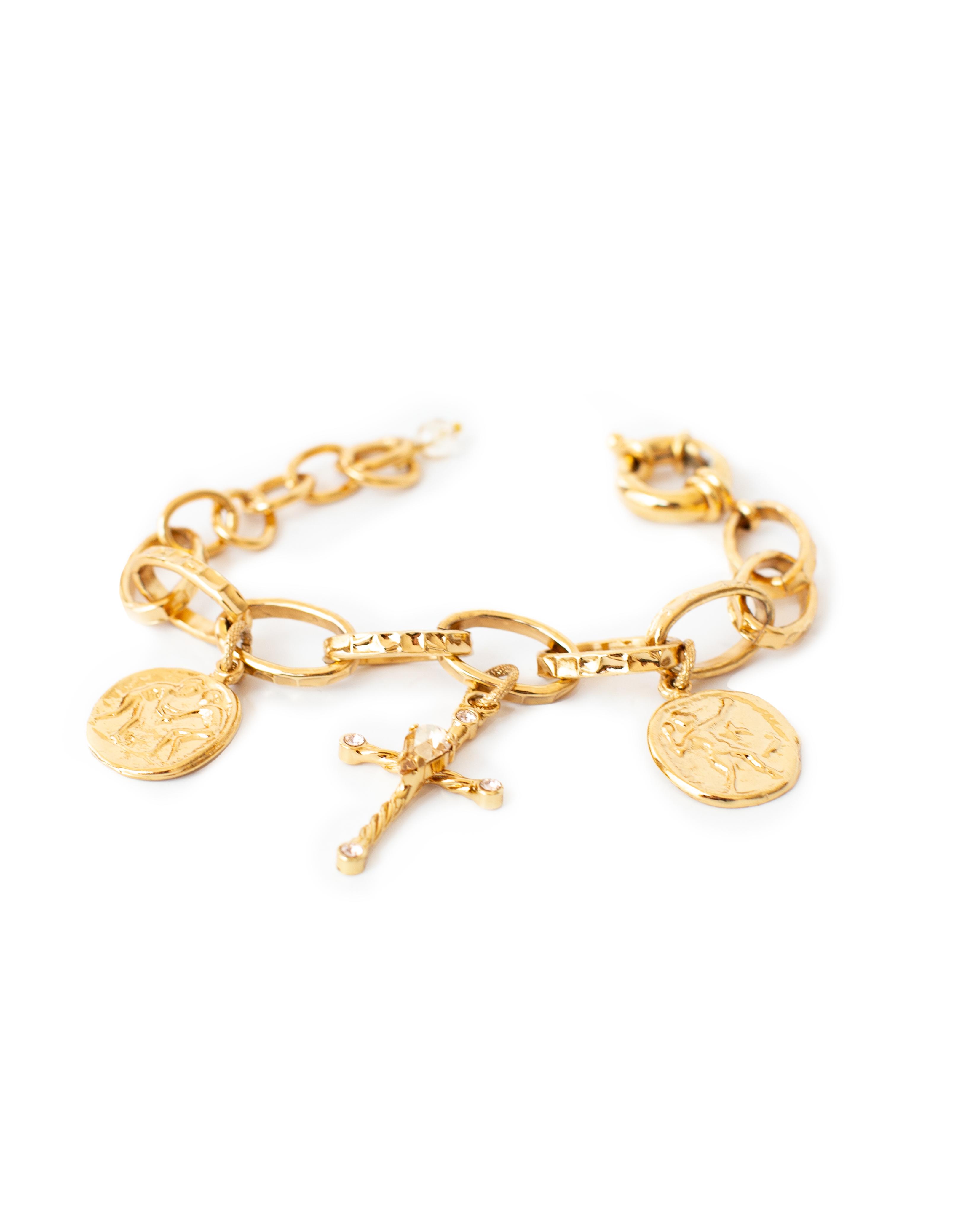 Brass LACCIO bracelet