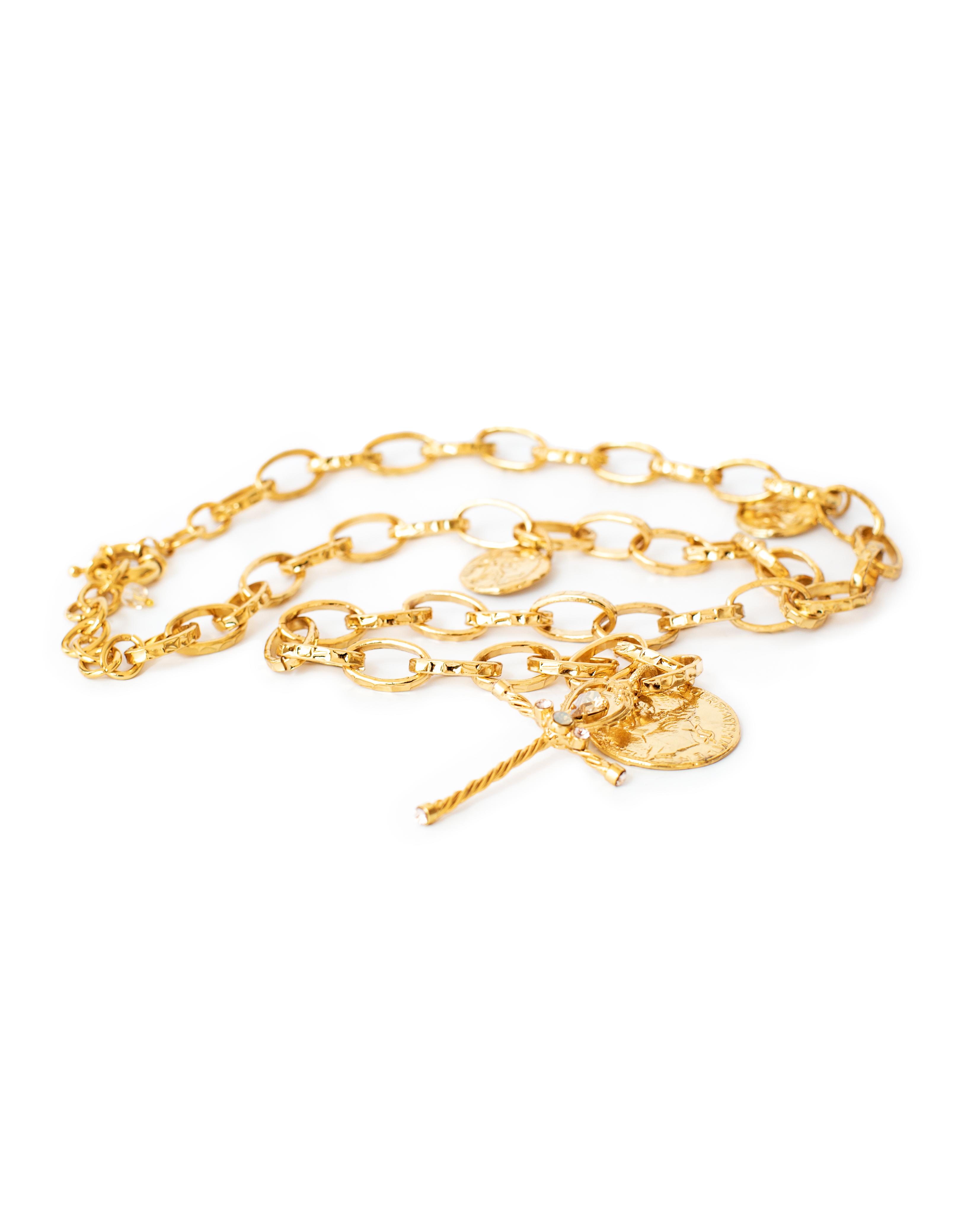 Brass LACCIO necklace