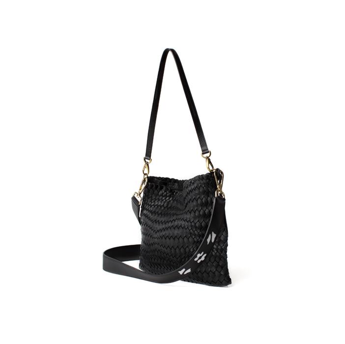 Bustina, black extra strap