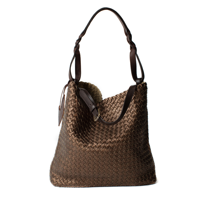 "Shopper ""Firenze"" Medium, bronze"