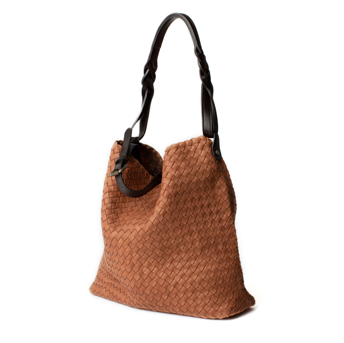 "Shopper ""Firenze"" Medium, redbrown"