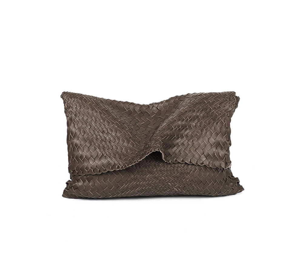 Clutch Medium, brown