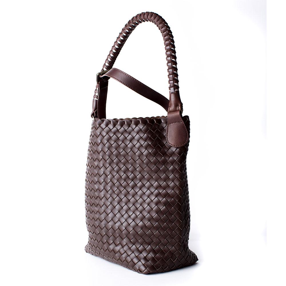 Shopper 'Arno' small, brown