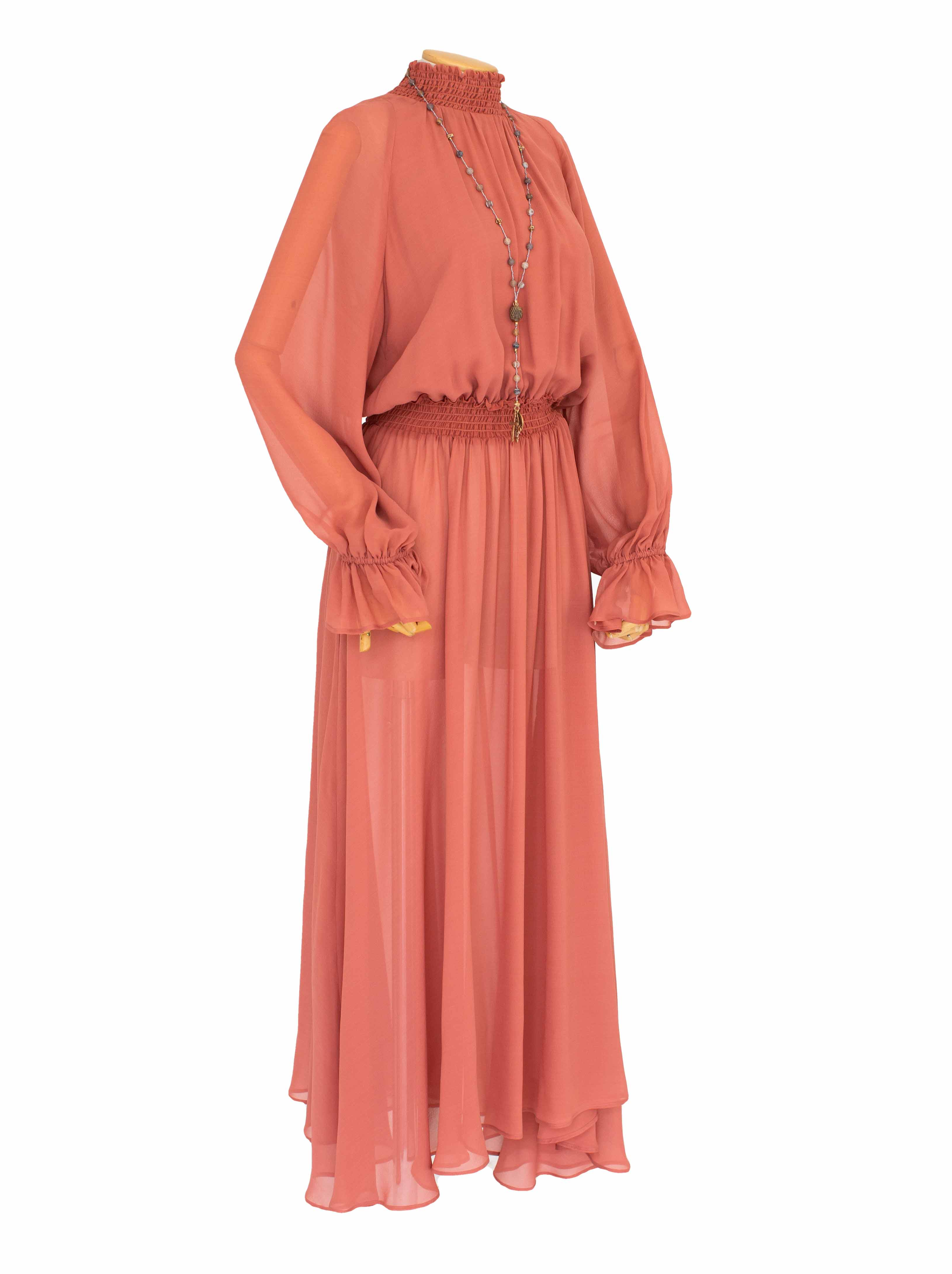 Crêpe georgette dress