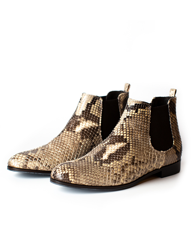 Extra Low Ankle Boots, beige