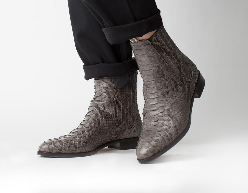 Python Boots, grey