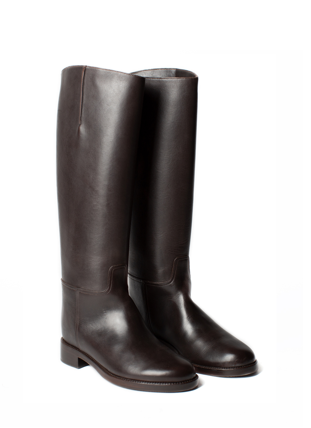 Riding Boots, dark brown