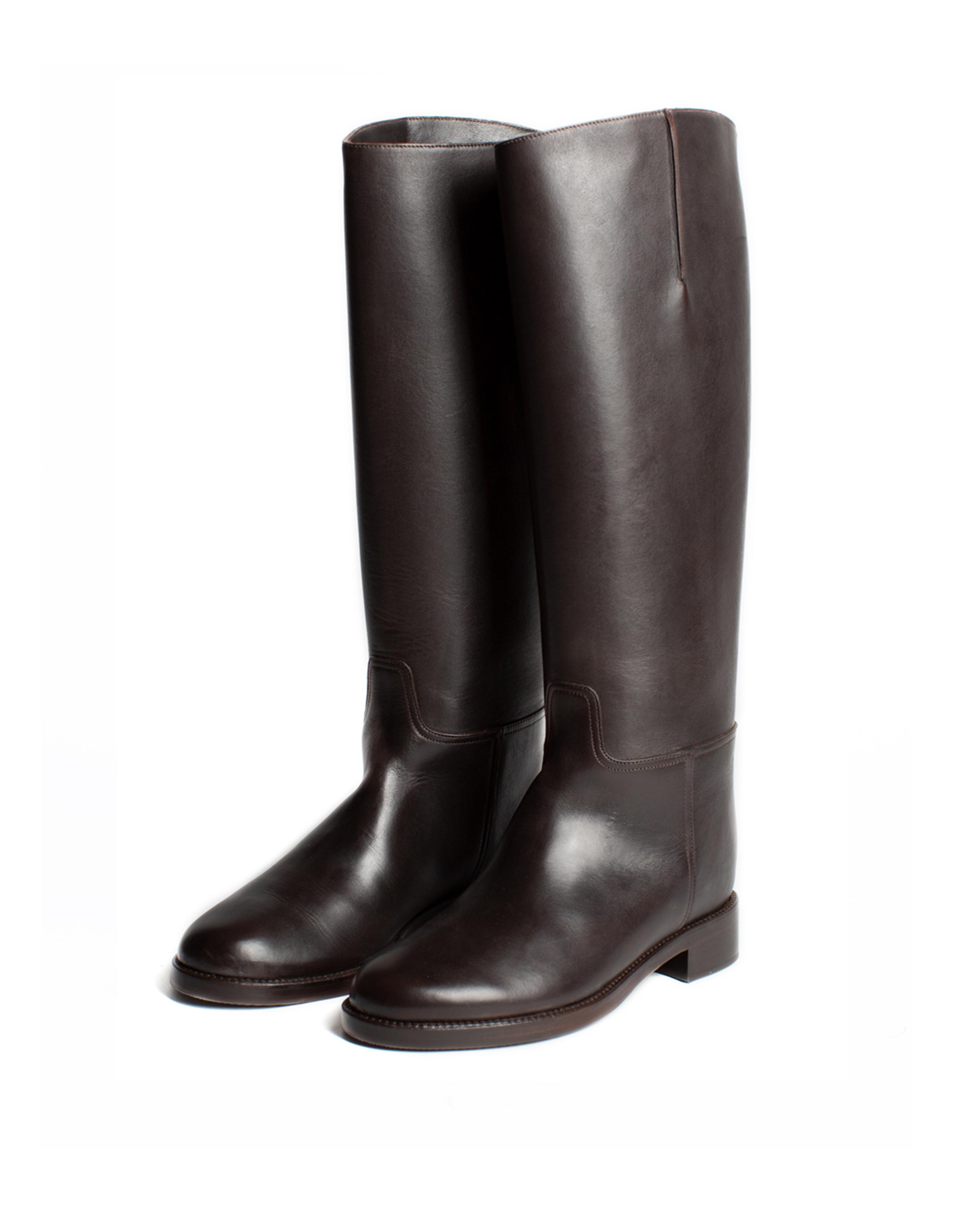 Riding Boots, dark brown